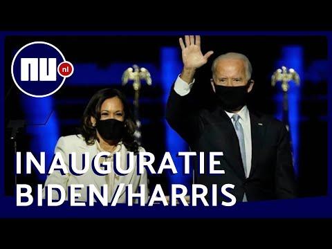 Live: Bekijk de inauguratie van Biden en Harris
