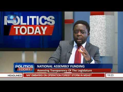 Politics Today: Assessing Transparency Of The Legislature