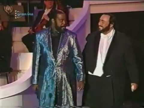 Pavarotti & Barry White - My first, my last, my everything