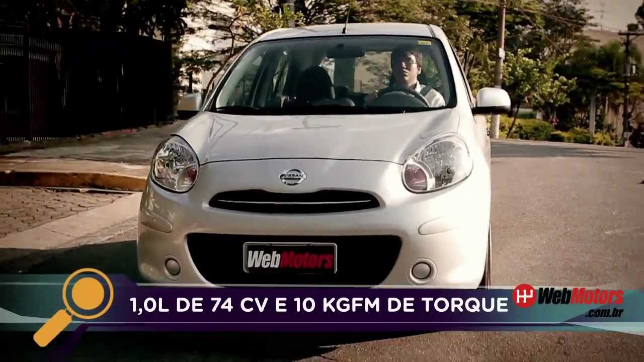 Teste Nissan March Youtube