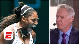 Serena Williams is letting her emotions get the better of her - Patrick McEnroe | Australian Open