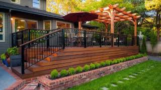 Cool Elevated Backyard Design Ideas For Beautiful Home, Best Deck Skirting Ideas You Need