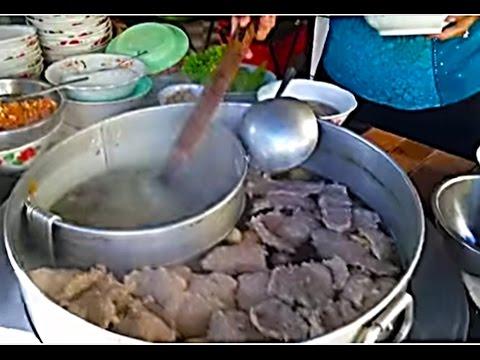 Asian Street Food - Breakfast Noodles - Battambang Town - Youtube