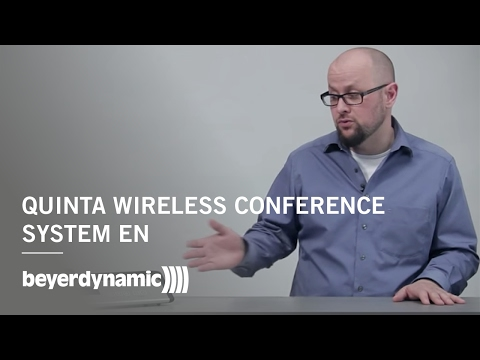 Quinta wireless conference system