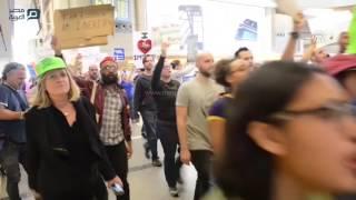 مصر العربية | احتجاجات أمام مطارات كاليفورنيا ضد قرار ترامب بشأن المهاجرين