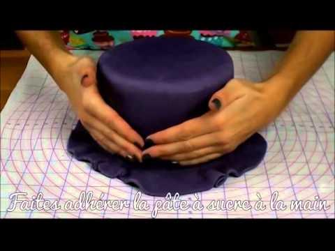 Tutoriel : Recouvrir un gâteau de pâte à sucre