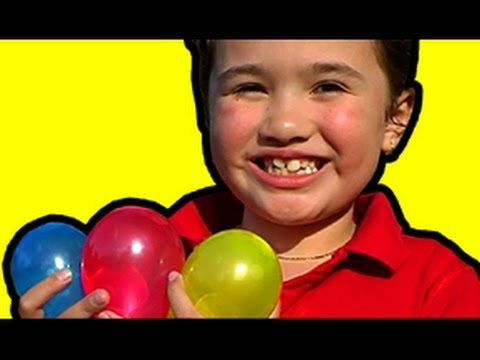 Water Balloons Prank Slowmo