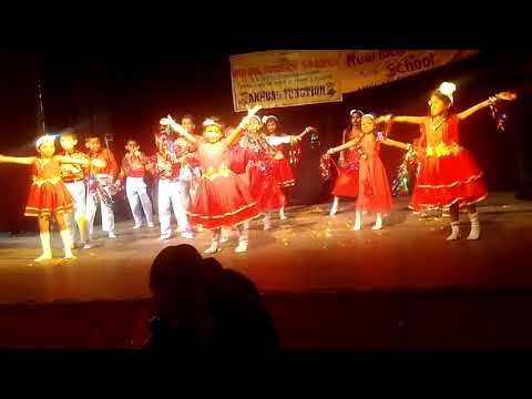 ??????? Song dance by little champ Annual function New Ideal montessori school Lucknow 2017