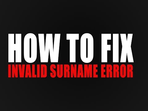 How to fix Invalid Surname Error - Income Tax India e-filing (Latest Working Method)
