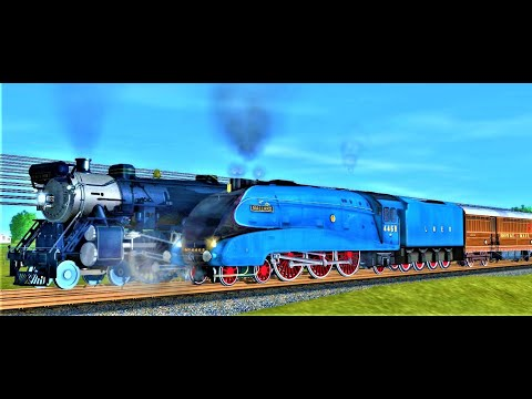 [US vs UK] CNJ The Blue Comet vs LNER Mallard |