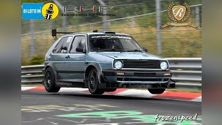 THE FASTEST VW GOLF 2 OF THE NÜRBURGRING!