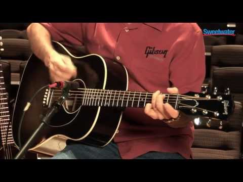 Gibson Acoustic J-45 Standard Acoustic-electric Guitar Demo - Sweetwater Sound