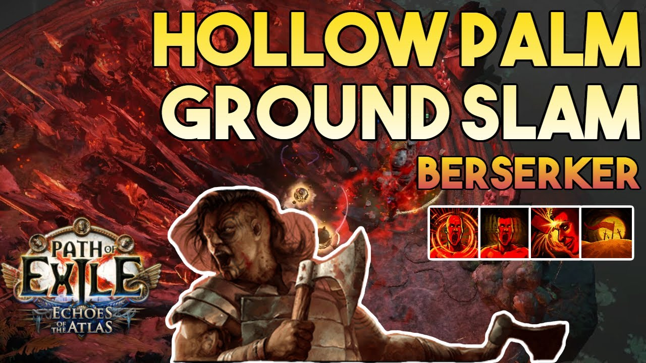 Download [3.14] Hollow Palm Ground Slam Build | Berserker | Ultimatum | Path of Exile 3.14