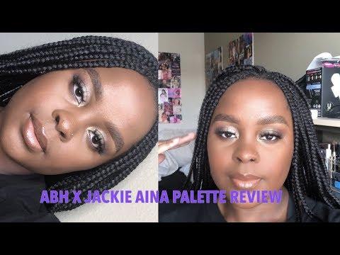 ABH X JACKIE AINA PALETTE REVIEW thumbnail