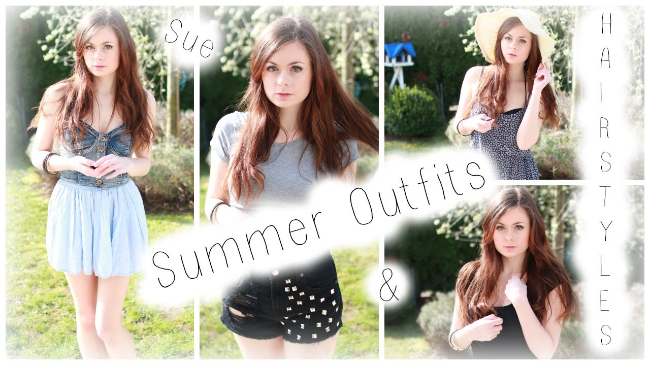 Cute Summer Outfits Hairstyles Sue Rose