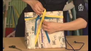 Упаковка книг. Подарок мужчине. Урок упаковки 11.(Упаковать подарок мужчине для многих (из опыта встреч и бесед) представляется делом сложным. Впрочем, как..., 2015-06-19T09:09:07.000Z)