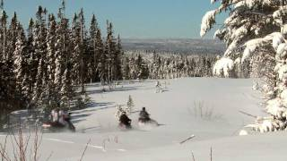 A winter's trail: snowmobiling Newfoundland and Labrador's stunning landscape