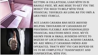 Bad Credit Car Loans Barrie