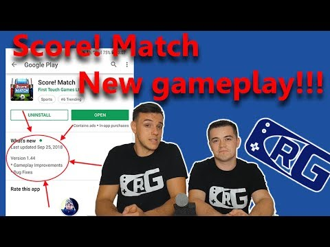 E019 - CRG, Score! Match - MASSIVE gameplay changes after the update!