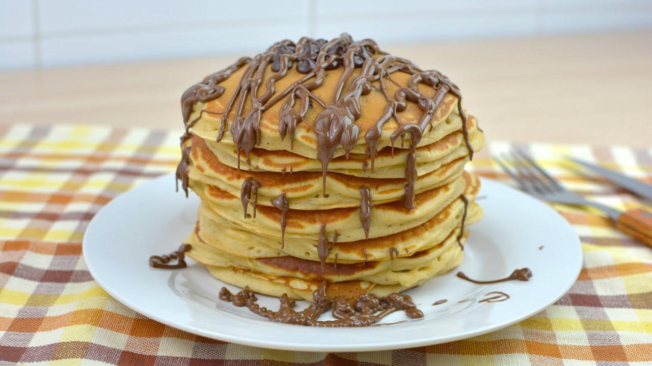 How To Make Chocolate Chocolate Chip Pancakes