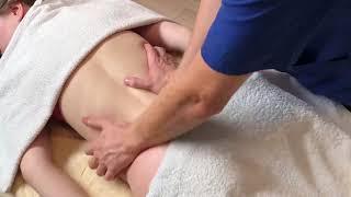 Урок 8. Антицеллюлитный массаж боков со стороны спины