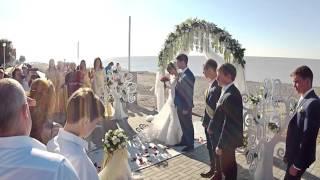 Невеста читает красивый рэп на свадьбе жениху-2016 (смотреть всем )