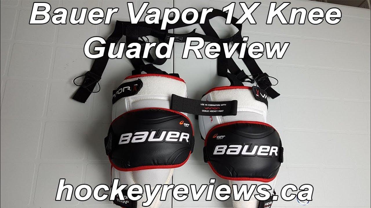 Bauer Vapor 1X Od1n Knee Guard   Hockey Goalie Garter Belt Review ...