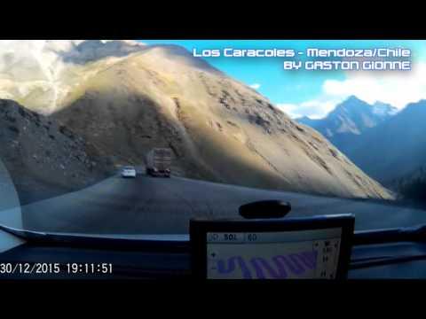 LOS CARACOLES - VIAJE MENDOZA - CHILE HD (CAM CAR)