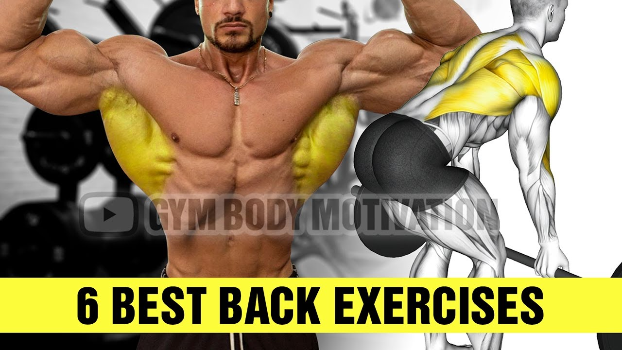 6 Back Exercises You Should Be Doing