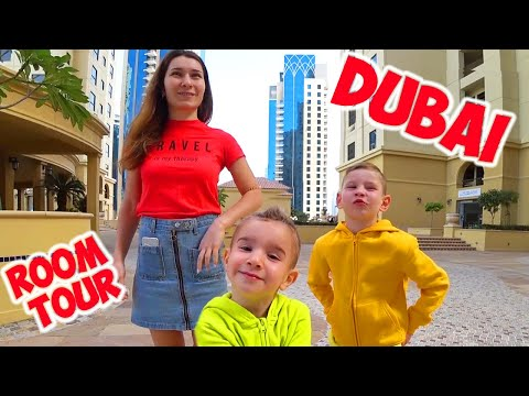 Рум Тур Квартира Дубаи Лев и Глеб играют в ПОЛ ЭТО ЛАВА JBR и Бизнес по-русски Dubai Garden Glow