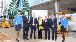 Richtfest Hilton Munich Airport Erweiterung @ Flughafen München am 09.10.2015