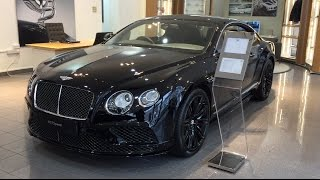 2017 Bentley Continental GT Speed Triple Black Mulliner $400,000 - Exterior and Interior Review