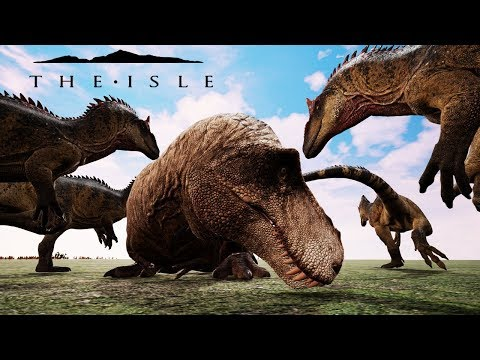 The Isle Deathmatch (#5) | Free For All, Batalha de Dinossauros! (Battle Dinosaur) | (PT/BR)