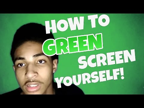 How To GREEN SCREEN Yourself using Android!