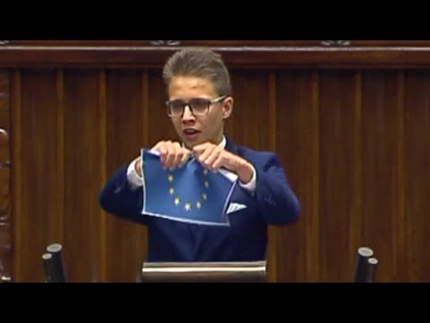 Licealista masakruje w Sejmie - Unia Europejska musi być zniszczona!
