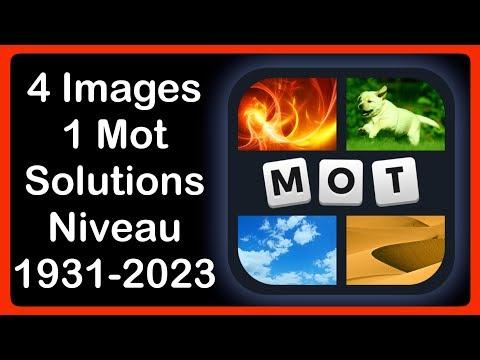 4 Images 1 Mot Niveau 1931 2023 Mise à Jour Septembre Hd Iphone Android Ios
