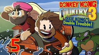 Donkey Kong Country 3 | Let's Play Ep. 5 | Super Beard Bros.
