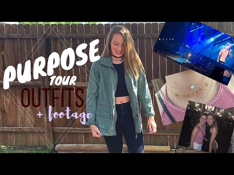 // WHAT I WORE : JUSTIN BIEBER CONCERT // + footage