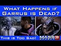 Mass Effect 3 - What Happens If Garrus Died at the End of ME2?