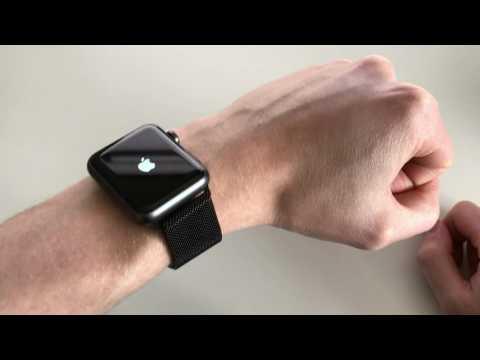 Apple Watch - 42mm Black Milanese Loop *Replica* Review (On Space Grey)