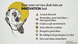 Service desk innovation webinar thumbnail