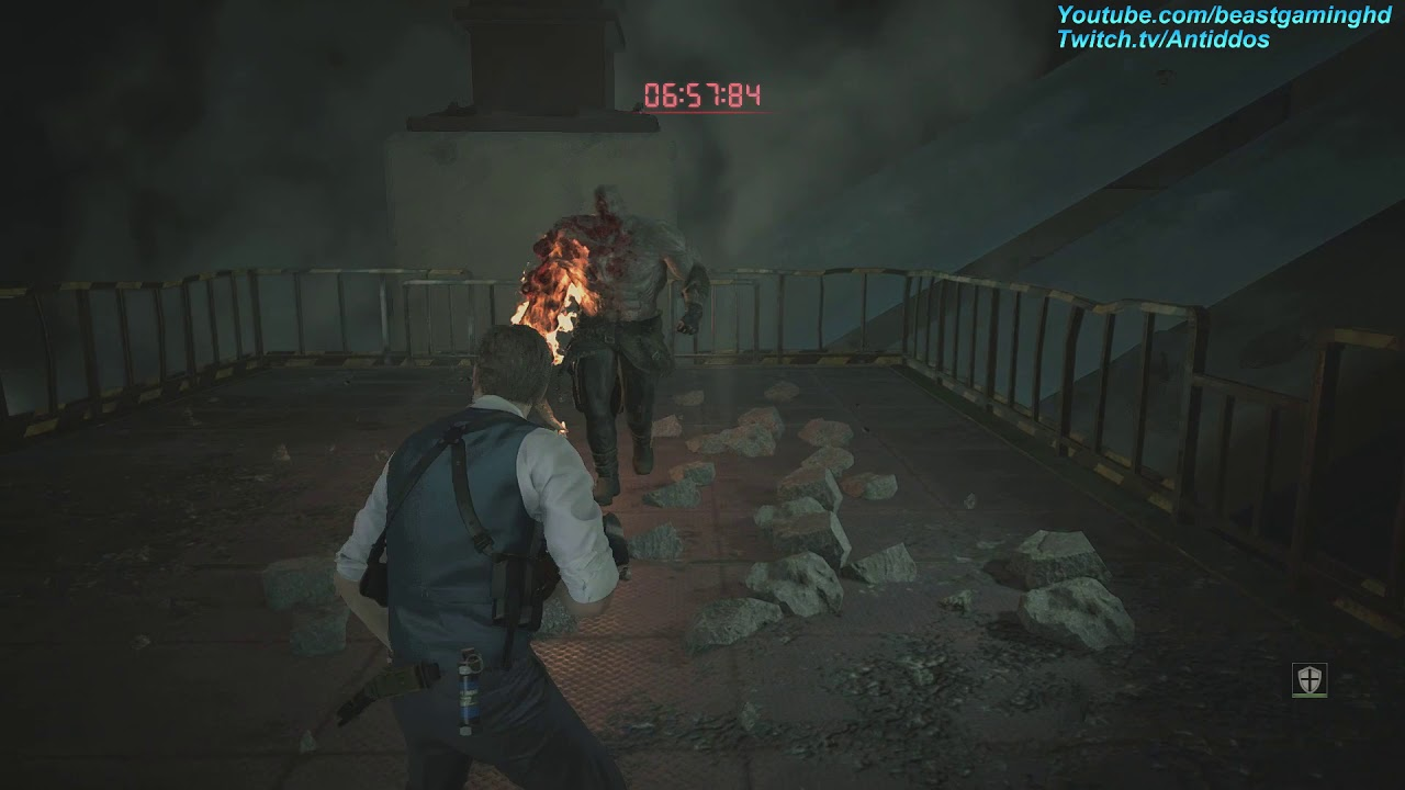Re2 Remake How To Do The Super Tyrant S Hardcore Tutorial