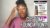 Does it Work?! NEW COVERGIRL CUSTOM BLEND FOUNDATION Scan