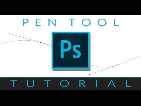 How To Use The Pen And Path Tool In Photoshop CC - Tutorial