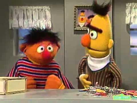 Sesame Street Bert Angry