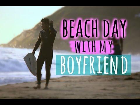 VLOG  BEACH DAY W BF