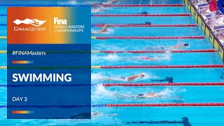 RE-LIVE | Swimming Day 3 | Main Pool | FINA World Masters Championships 2019
