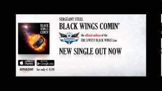 SERGEANT STEEL - Black Wings Comin