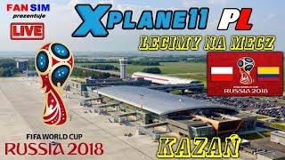 LECIMY NA MECZ O WSZYSTKO I X-PLANE 11 I  SOCHI - KAZAŃ  AIRBUS A320 FF