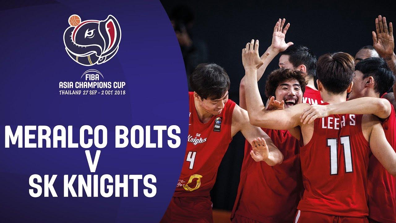 Meralco Bolts (PHI) v SK Knights (KOR) - Highlights - Third-Place